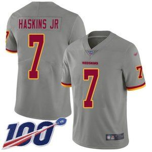 Washington Redskins Dwayne Haskins 100th Jersey